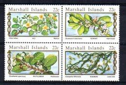 Marshall Islands - 1985 - Medicinal Plants - MNH - Marshallinseln