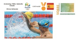 Spain 2016 - Olympic Games Rio 2016 - Gold Medal - Swimming Female Spain Cover - Juegos Olímpicos
