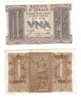 1 LIRA IMPERO 1939  FDS LOTTO 842 - Italia – 1 Lira