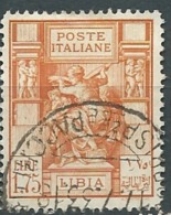 Italie - Libye  - Yvert N°62  Oblitéré - Abc8315 - Libia