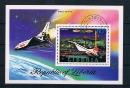 Liberia 1978 Raumfahrt Block 88 Gest.. - Liberia