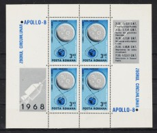 1969  APOLLO 8  MI No  69 MNH - 1948-.... Républiques