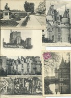 Lot De 170 CPA-CPSM- Que Des Petits Formats De INDRE ET LOIRE (37) (Lot En Vrac) - Cartes Postales