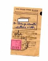 Recepisse 517-2 Cachet Bron - Documents De La Poste