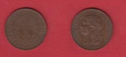 Médaille Centenaire Du 14 Juillet --  Petits Coups Tranche Sinon Beau TTB - France