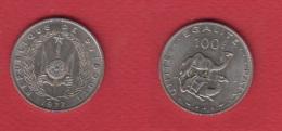 Djibouti  --  100 Francs 1977  -- Km # 26  ---  état SUP - Dschibuti