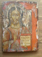 18th-century Russian Icon Of The Original 100% - Archaeology