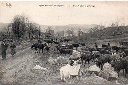Types Et Scènes Champetres - Départ Pour Le Paturage    (88946) - France