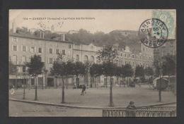 DF / 07 ARDÈCHE / ANNONAY / LA PLACE DES CORDELIERS / ANIMÉE / CIRCULÉE EN 1905 - Annonay