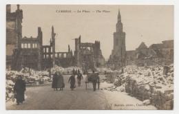 59 NORD - CAMBRAI Carte Photo, La Place - Cambrai