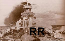 RETIRAGE DE PHOTO GUERRE 1914 1918 (WW1)APRES RESTAURATION SUR PAPIER GLACE ,,bateau Russe - 1914-18