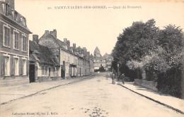 80-SAINT-VALERY-SUR-SOMME- QUAI ROMEREL- - Saint Valery Sur Somme