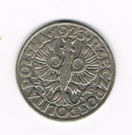 °°°  POLEN  50 GROSZY  1923 - Polen
