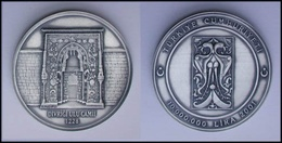 AC - DIVRIGI GREAT MOSQUE, SIVAS TURKEY COMMEMORATIVE OXIDE SILVER COIN UNCIRCULATED 2001 - Munten & Bankbiljetten