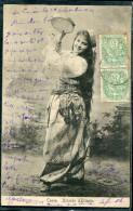 CRETE - N° 5 (2) SUR CPA OBL. LA CANÉE LE 12/12/1904, POUR MONTPELLIER - TB