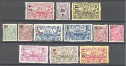 Nouvelle Caledonie: Yvert N°127/38*; Cote 45.00€ - New Caledonia