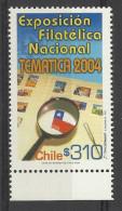 CHILE 2004 NATIONAL PHILATELIC EXHIBITION MNH - Cile