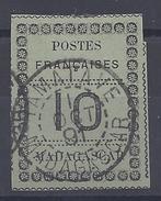 MADAGASCAR - 1891 - N° 9 -  OBLITERE - CACHET DE TAMATAVE  1er OCT. 1891 - - Madagascar (1889-1960)