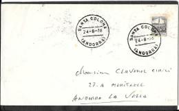 CAD   SANTA  COLOMA  ANDORRA - Lettres & Documents