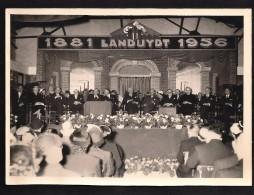 ORIGINELE FOTO *N.V. BRIQUETERIES ET ATELIERS LANDUYDT * TERHAGEN * RUMST * VIERING 75 JARIG BESTAAN * 1956 * 18 X 13 CM - Rumst