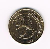 °°° FINLAND  1 MARKKA  1993 - Finlande