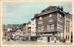 """06175  """"LIÈGE - BELGIQUE - QUAI DE LA BATTE ET MAISON HAVARD"""" CART. ILL. ORIG. SPEDITA 1957 - Liège"""