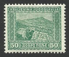 Yugoslavia, 50 P. 1931, Sc # B20, Mi # 225, MH - 1931-1941 Royaume De Yougoslavie