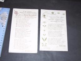 MEIRELBEKE, 14 Juin 1902. Mariage De Irène CARDO Et Hector VAERENDONCK -1 Poème De Alice HENNENS Et 1 De Marietta CARDO - Vieux Papiers