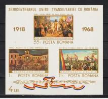 1968 - Cinquantenaire Du Rattchement Mi No Bl 68 MNH - 1948-.... Republics