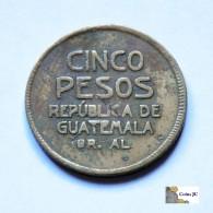 Guatemala - 5 Pesos - 1923 - Guatemala