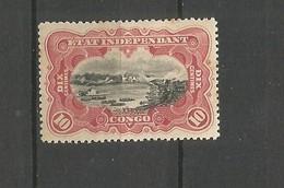 CONGO BELGA YVERT NUM.  19 * - 1894-1923 Mols: Mint/hinged