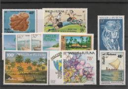 WALLIS ET FUTUNA  Année 1990 Complète  N°393/404 A** Côte 50,30 € - Wallis And Futuna