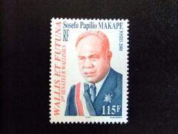 WALLIS Y FUTUNA WALLIS Et FUTUNA 2000 SOSEFO PAPILIO MALAPE 1º Sénateur Walliense Yvert & Tellier Nº 538 ** MNH - Wallis Y Futuna