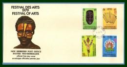 N. Hébrides FDC Festival Des Arts 1979  Masque ... - FDC