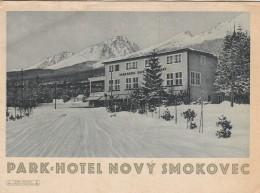 Slovakia - Novy Smokovec - Vysoke Tatry - Tourism Brochure 140x105mm - Dépliants Touristiques