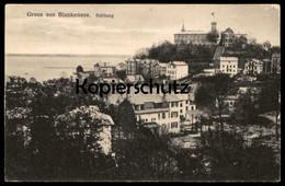 ALTE POSTKARTE GRUSS AUS BLANKENESE SÜLLBERG TEXT AUSFLUG SOLDATENKARTE AN ELTERN 1918 AK Ansichtskarte Postcard Cpa - Blankenese