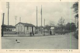 33 CAZAUX LAC  école De Tir Aérien L´entrée   2 Scans - France