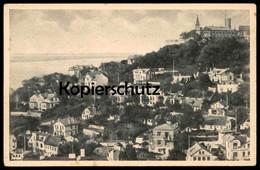 ALTE POSTKARTE HAMBURG-BLANKENESE MIT DEM SÜLLBERG AK Ansichtskarte Postcard Cpa - Blankenese