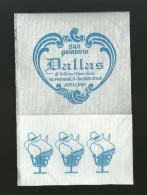 Tovagliolino Da Caffè - Bar Dallas - Serviettes Publicitaires