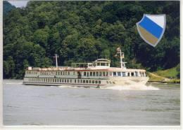 MS SWISS CRYSTAL,  Scylla Tours AG, BASEL SHIP FAHRGASTSCHIFF - Bateaux