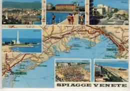 SPIAGGE VENETE, Carta, Viste Panoramiche - Italy