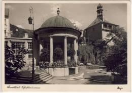 KARLSBAD -  Schloßbrunnen,   Edit. Stoja - Sudeten