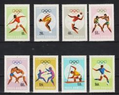 1968 - J.O. DE Mexico Mi No 2697/2704 Et Yv No 2400/2407 MNH - 1948-.... Republics
