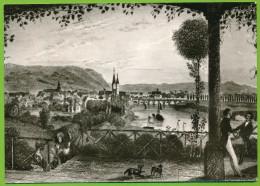 ALT  HÖXTER Blick Vom Felsenkeller 1835 Echt Foto Non Circulé - Hoexter