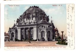 BUFFALO Pan American Exposition Building 1906 - Foires