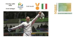 Spain 2016 - Olympic Games Rio 2016 - Gold Medal Fencing Male Hungary Cover - Juegos Olímpicos