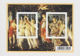 2010 - BLOC FEUILLET - Sandro Botticelli (1445-1510) - Peintre Italien - N° YT : F4518 - Blocs & Feuillets