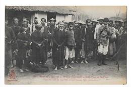 TONKIN  - Yen Thé - Groupe De Pirates Prisonniers -     - L 1 - Viêt-Nam