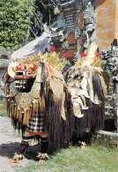 BALI (Indonesien) - Barong Tanz, Karte Gel.m. 2 Sondermarken - Indonesien