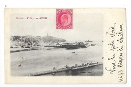 ADEN  -  Steamer Point - Carte De 1906    - L 1 - Yemen